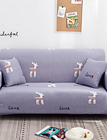 Недорогие -серый олень с принтом пыленепроницаемый всесильный чехлы из эластичного чехла для дивана супер мягкий чехол из ткани с одной бесплатной наволочкой