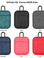 cheap -Earphone Case For AirPods 1&2 Canvas Hand Headphone Case (AirPods Charging Case Not Included)