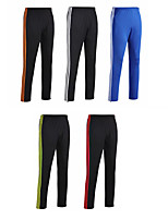 cheap -Men's Women's Running Pants Track Pants Sports Pants Side-Stripe Sports Pants / Trousers Running Jogging Training Breathable Quick Dry Soft Color Block Black / Red Black / Orange Blue / White Black