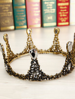 cheap -Black Swan Tiaras Wreaths Retro Vintage Gothic Alloy Crown Masquerade For Party / Cocktail Festival Halloween Carnival Women's Costume Jewelry Fashion Jewelry