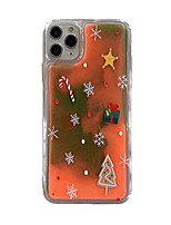 cheap -Case For Apple iPhone 11 / iPhone 11 Pro / iPhone 11 Pro Max Glow in the Dark / Pattern Back Cover Christmas TPU for iPhone X XS XR XS MAX 8 8PLUS 7 7PLUS 6 6PLUS 6S 6S PLUS