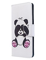 cheap -Case For Samsung Galaxy S10 / Galaxy S10 Plus / Galaxy S10 E Wallet / Card Holder / with Stand Full Body Cases Panda PU Leather For Galaxy S11/S11E/S11 Plus/Note 10 Plus/A20E/A71/A51