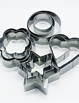 cheap -12pcs Stainless Steel Lovely Creative Multifunction For Cookie Multifunction Cake Cube Cake Molds Dessert Decorators Dessert Tools Bakeware tools