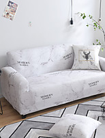 cheap -Nordic Simple Marble Letter Elastic Sofa Cover Full Package Single Double Three Person Sofa Cover