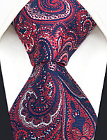 cheap -Men's Party / Work / Basic Necktie - Geometric / Paisley / Jacquard
