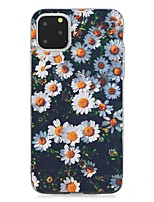 cheap -Case For Apple iPhone 11 / iPhone 11 Pro / iPhone 11 Pro Max Ultra-thin Back Cover Flower TPU For iPhone XS Max/XS/XR/X/7/8 Plus/6s Plus/5/5s/SE