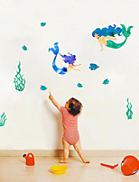 cheap -Decorative Wall Stickers - Plane Wall Stickers Sea / Fairies Bathroom / Kids Room