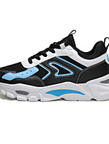 cheap -Men's Novelty Shoes PU Spring & Summer / Fall & Winter Sporty / Preppy Sneakers Running Shoes / Walking Shoes Warm White / Black / Green / Black / Blue