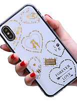 cheap -Case For Apple iPhone 11 / iPhone 11 Pro / iPhone 11 Pro Max Shockproof Back Cover Heart / Cartoon TPU