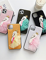 cheap -Case For Apple iPhone 11 / iPhone 11 Pro / iPhone 11 Pro Max Pattern Back Cover Animal / Cartoon Textile for iPhone 6  6 Plus  6s 6s plus 7 8 7 plus 8 plus X XS XR XS MAX