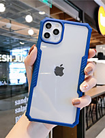 cheap -Case For Apple iPhone 11 / iPhone 11 Pro / iPhone 11 Pro Max Shockproof / Frosted Back Cover Transparent / Solid Colored PC