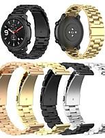 abordables -smartwatch band pour huami amazfit gtr 42mm / bip younth watch / amazfit bip / bip lite amazfit sport band haut de gamme mode boucle classique bracelet en silicone 20mm