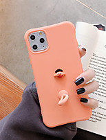 cheap -Case For Apple iPhone 11 / iPhone 11 Pro / iPhone 11 Pro Max Shockproof / Ring Holder Back Cover Solid Colored TPU
