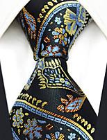 cheap -Men's Party / Work / Basic Necktie - Floral / Paisley / Jacquard