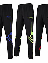 cheap -Men's Running Pants Track Pants Sports Pants Sports Pants / Trousers Running Jogging Training Breathable Quick Dry Soft Color Block Black Black / Red White Green Red Blue / Micro-elastic