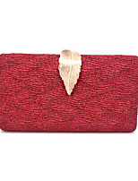 cheap -Women's Chain Satin Evening Bag Solid Color Champagne / Gold / Silver