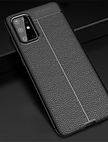 cheap -Case For Samsung Galaxy S20 / S20 Plus / S20 Ultra Litchi Grain Shockproof Soft TPU Phone Case for Samsung Galaxy Note 10 / Note 10 Plus