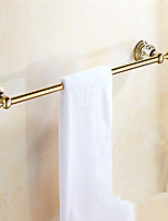 cheap -Towel Bar New Design Modern Brass 1pc - Bathroom / Hotel bath Single Wall Mounted