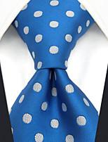 cheap -Men's Party / Work / Basic Necktie - Polka Dot / Jacquard