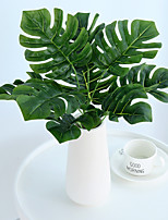 cheap -Large Leaf Shaped Turtle Leaves Plants Artificial Tree PlantsHome Decoration