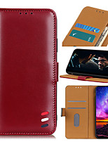 cheap -Case For Samsung Galaxy Samsung Galaxy A90(2019)  A60 A80 M40 A10E Note10 Note10 A10S A20S A30S A90 5G A70S Card Holder Flip Full Body Cases Solid Colored PU Leather