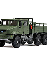 cheap -1:36 Toy Car Vehicles Truck Chariot Truck Construction Truck Set Military Vehicle Special Designed Glow Parent-Child Interaction Zinc Alloy Rubber ABS+PC Boys' Girls'