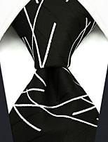 cheap -Men's Party / Work / Basic Necktie - Striped / Geometric / Jacquard
