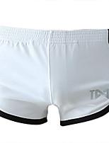 abordables -Homme Basique Boxers - Normal Taille basse Noir Bleu Ciel Blanche M L XL