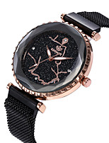 cheap -Women's Quartz Watches Casual Fashion Black Blue Gold Alloy Quartz Black Rose Gold Blue New Design Casual Watch Adorable Analog