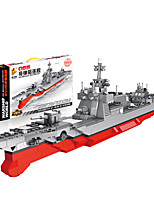 cheap -Building Blocks 1046 pcs Military compatible Legoing Simulation Boat All Toy Gift / Kid's