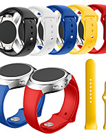 cheap -Smartwatch Band for Samsung Gear S2 SM-R720 / SM-R730 sport Band Fashion Soft comfortable Silicone Wrist Strap