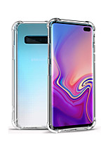 cheap -Samsung Galaxy Note8 Note9 Note10 Note10 Note10Plus / Por TPU Crystal Case Luxury Shockproof Transparent Soft Silicone Case