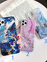 cheap -Case For Apple iPhone 11 / iPhone 11 Pro / iPhone 11 Pro Max Pattern Back Cover Marble TPU X XS XSmax XR 6 6plus 6splus 6s 7 7plus 8 8plus