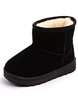 cheap -Girls' Snow Boots Cotton Boots Little Kids(4-7ys) Black / Pink / Brown Fall / Mid-Calf Boots