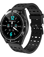 cheap -KUPENG KP6 Smartwatch for Samsung/ IOS/ Android Phones,  Full Round-screen Bluetooth Fitness Tracker Support Heart Rate Monitor/ Blood Pressure Measurement/ Distance Tracking