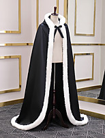 cheap -Sleeveless Faux Fur Wedding / Party / Evening Women's Wrap With Lace-up Capes