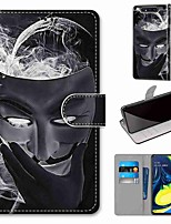 cheap -Case For Samsung Galaxy S10 / S10 Plus / S10 E Wallet / Card Holder / with Stand Smoke Mask PU Leather / TPU for A10s / A20s / A50(2019) / A70(2019) / A90(2019) / Note 10 Plus / J6 Plus(2018)