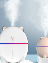 cheap -200ml Mini Humidifier Usb Portable Essential Aroma Oil Diffuser Cute Colorful Night Light Mist Maker Fogger Dudu Cat