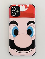 cheap -Case For Apple iPhone 11 / iPhone 11 Pro / iPhone 11 Pro Max Shockproof / Frosted Back Cover Cartoon TPU