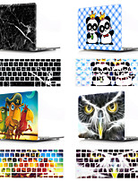 cheap -Mac Keyboard Cover & MacBook Case Animal / Cartoon / Marble Plastic for New MacBook Pro 15-inch / New MacBook Pro 13-inch / New MacBook Air 13 2018