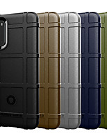 cheap -Case For Motorola MOTO G6 / Moto G6 Play / Moto G6 Plus Shockproof Back Cover Solid Colored Silica Gel