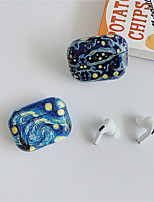 cheap -Case For AirPods Pro Cute / Shockproof / Pattern Headphone Case Hard