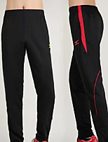 cheap -Men's Running Pants Track Pants Sports Pants Sports Pants / Trousers Running Jogging Training Breathable Quick Dry Soft Color Block Black / Red Black / Green / Micro-elastic