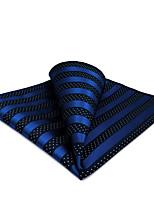 cheap -Men's Party / Work / Basic Pocket Squares - Polka Dot / Striped / Jacquard