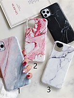 cheap -Case For Apple iPhone 11 / iPhone 11 Pro / iPhone 11 Pro Max Frosted / Pattern Back Cover Marble TPU X XS XSmax XR 6 6plus 6splus 6s 7 7plus 8 8plus