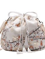 cheap -Women's Lace Polyester Crossbody Bag Floral Print White / Blushing Pink / Blue