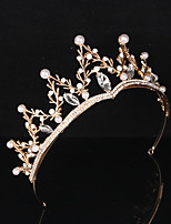 cheap -Princess Aurora Tiaras Wreaths Retro Vintage Lolita Alloy Crown Masquerade For Party / Cocktail Festival Halloween Carnival Women's Costume Jewelry Fashion Jewelry