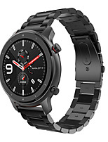 cheap -Smartwatch Band for Huami Amazfit GTR 47mm / Stratos3 / Nexo / Pace / Stratos 2 /Stratos port Band Fashion Classic Buckle Stainless Steel Wrist Strap 22mm