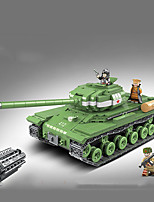 cheap -Building Blocks 1068 pcs Military compatible Legoing Simulation Tank All Toy Gift / Kid's