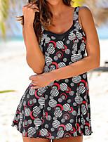 cheap -Women's One Piece Swimsuit Patchwork No Padded Swimwear Bodysuit Swimwear Black / Black Quick Dry Ultra Light (UL) Comfortable Sleeveless - Swimming Surfing Autumn / Fall Summer / Stretchy
